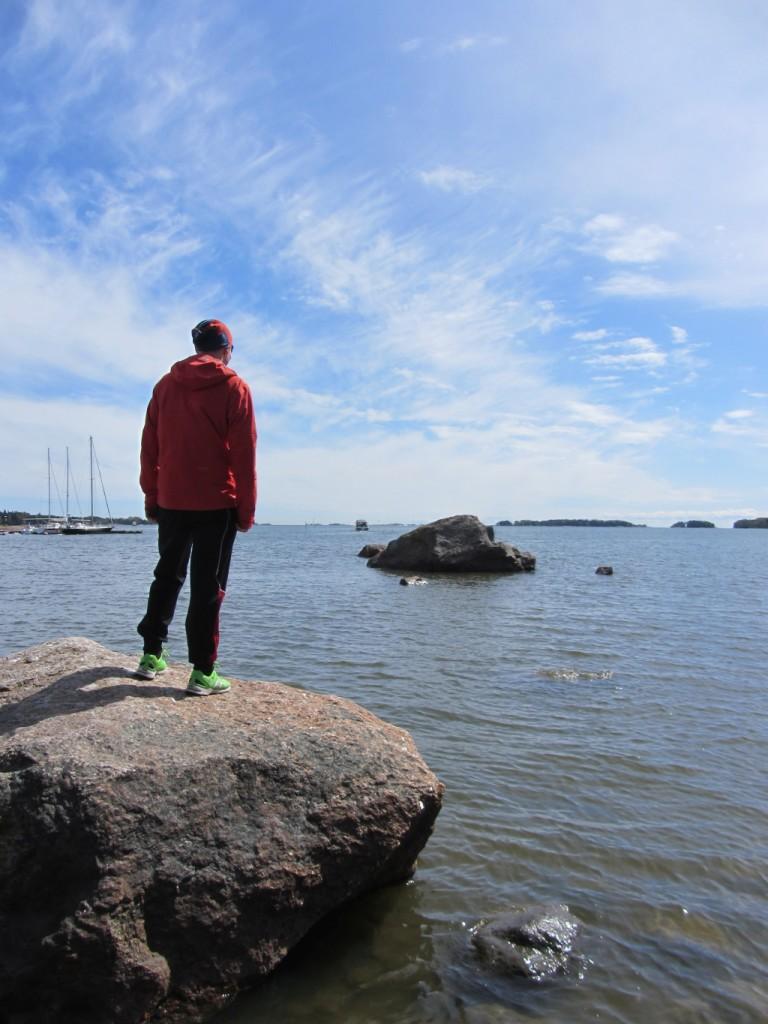 Sunnuntain palauttavalla kävelyllä Espoon puolella